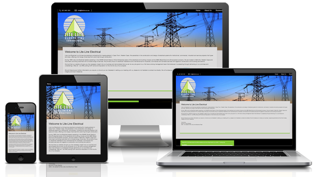 Electrical Website Design